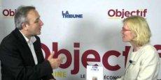 Céline Godet, présidente de l'Echoppe, qui conçoit et commercialise la marque Soyin.