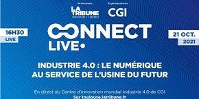 Le 21 octobre, jour de l'inauguration, un live 100 % digital proposé par La Tribune et CGI est prévu à 16h30 en direct de ce nouveau centre d'innovation.