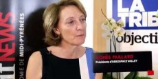 Agnès Paillard, présidente d'Aerospace Valley