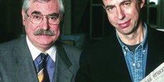 A la recherche de Bernard Maris (à droite) : dans cet extrait du documentaire diffusé par Public Sénat, l'ancien directeur de la rédaction de