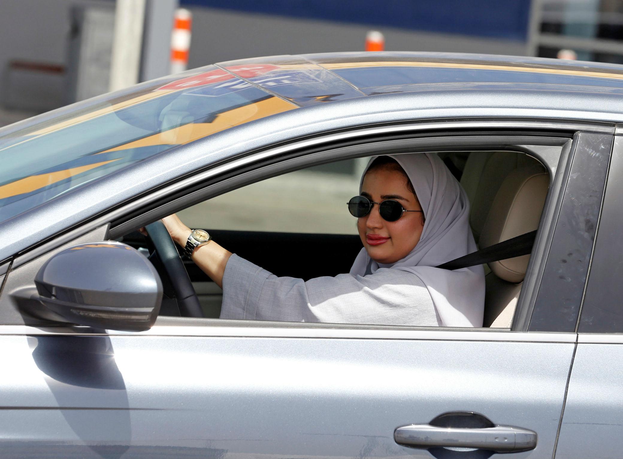 Les Saoudiennes enfin au volant