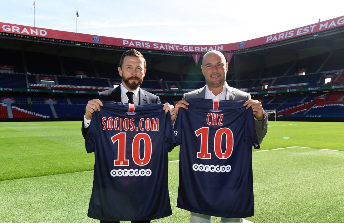 Le Paris Saint-Germain premier club à se lancer dans la Blockchain
