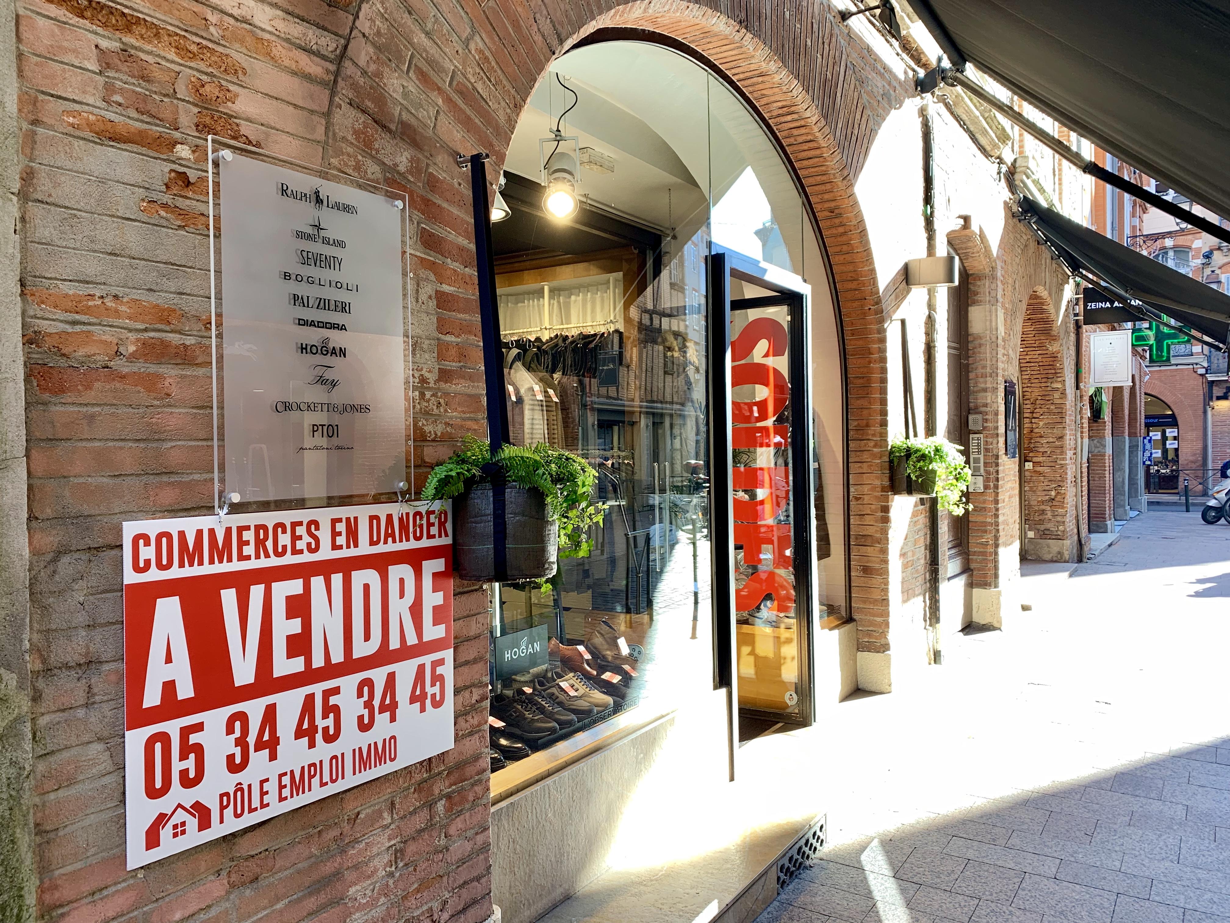 Des Centaines De Commerces A Vendre Dans Le Centre Ville De Toulouse