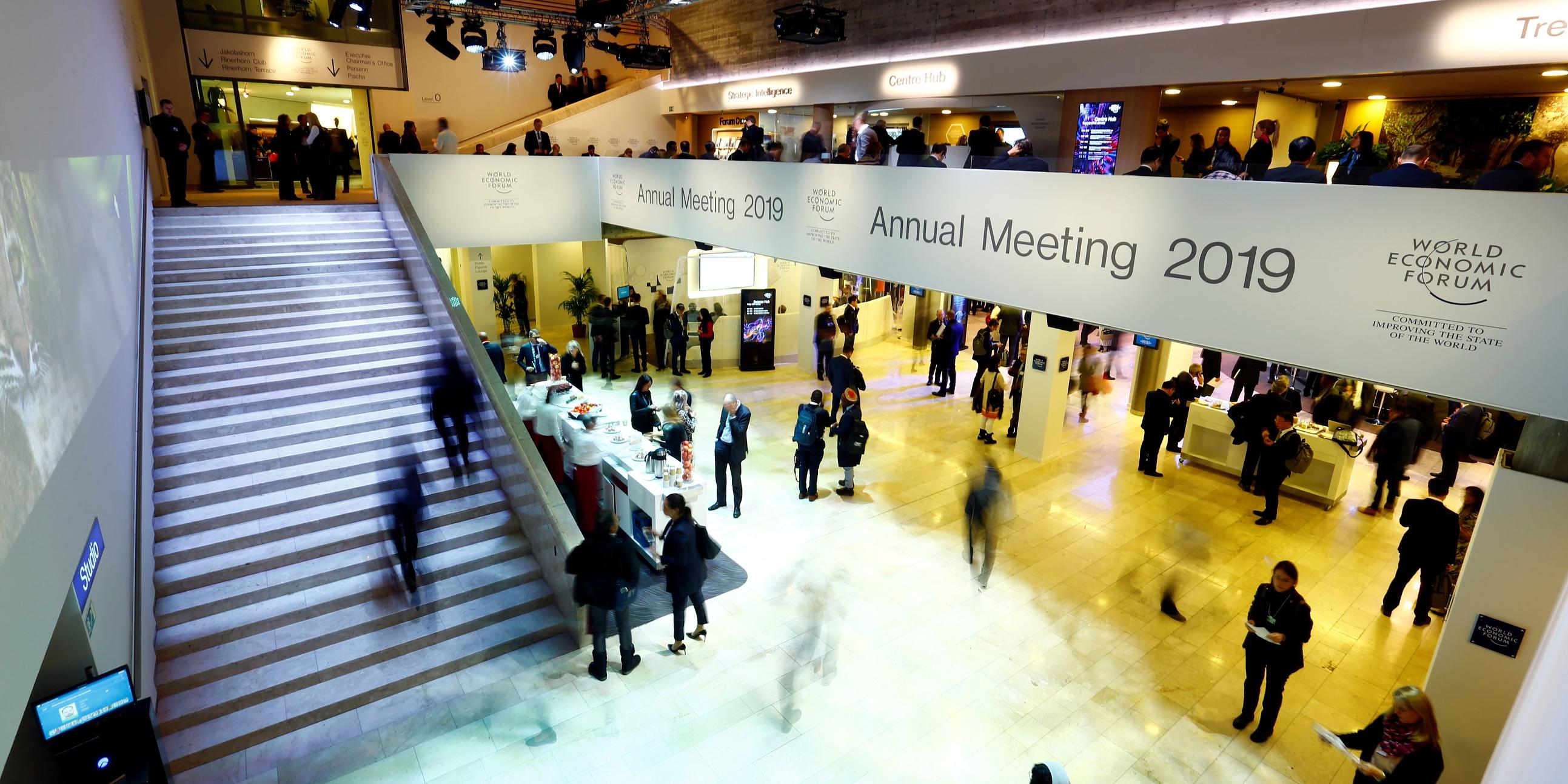 À Davos, la fin d'un monde