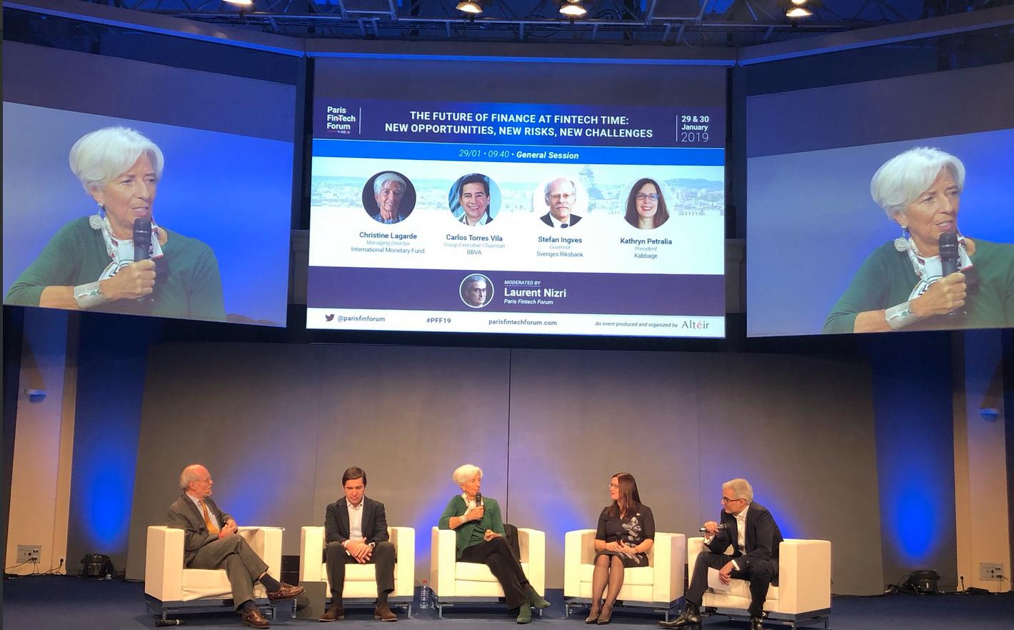 Pour Lagarde, les Fintech peuvent rendre le monde meilleur par l'inclusion bancaire