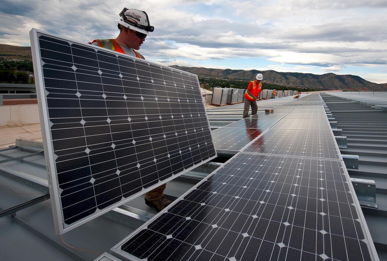La production d'énergie solaire affectée par le réchauffement climatique