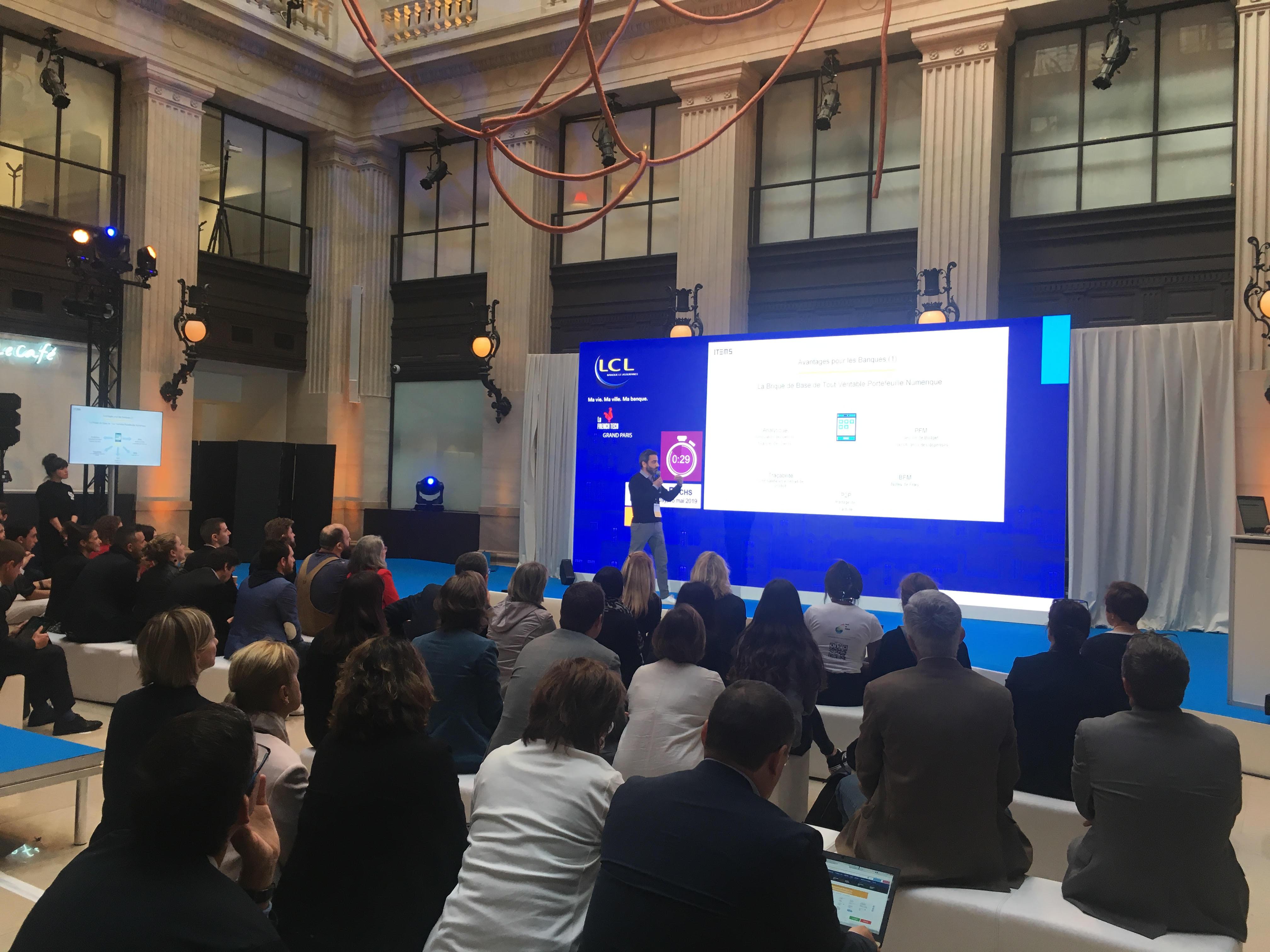 Lcl Organise Un Casting Geant De Startups Pour Dessiner La Banque