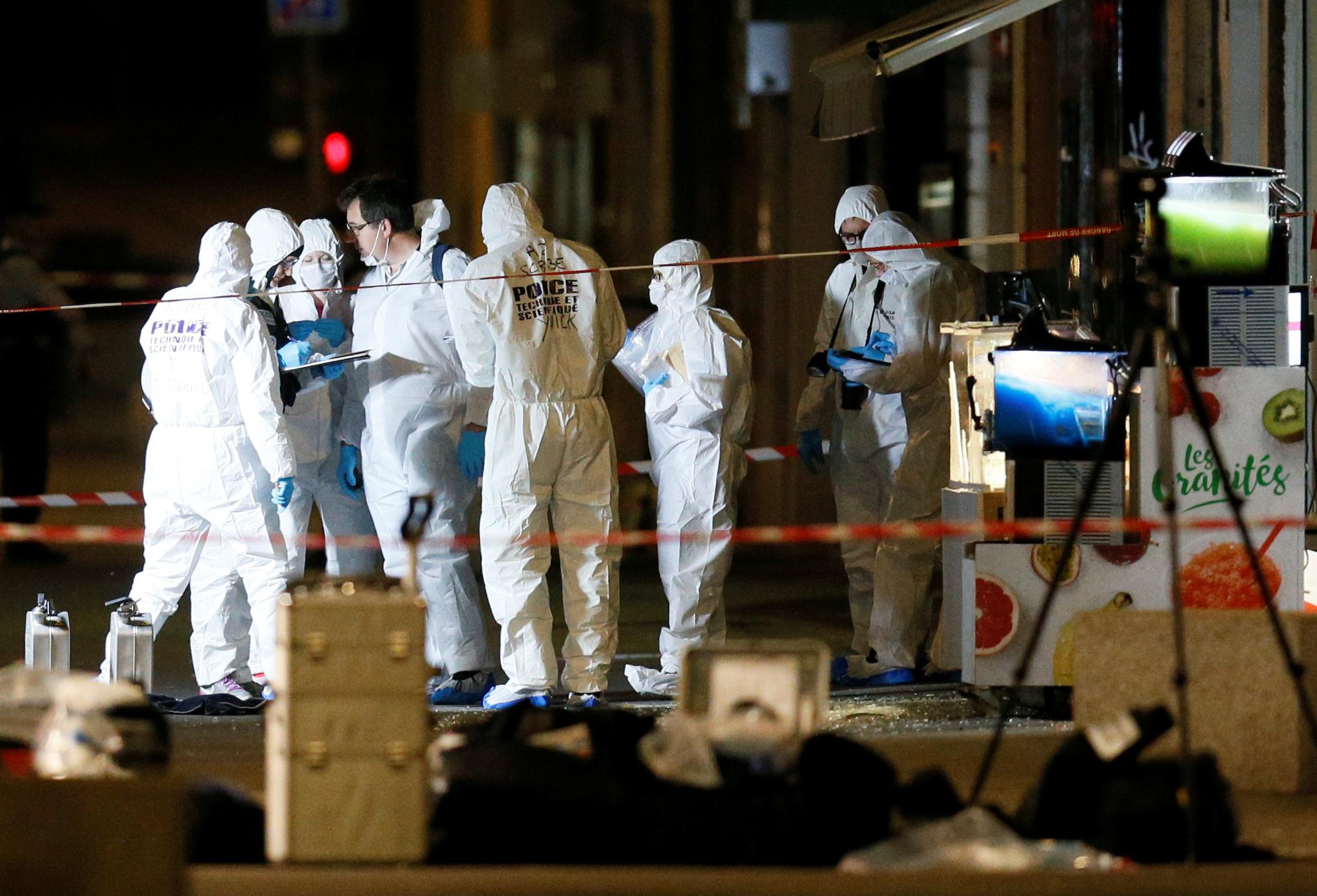 Chasse à l'homme en cours après l'attaque au colis piégé à Lyon