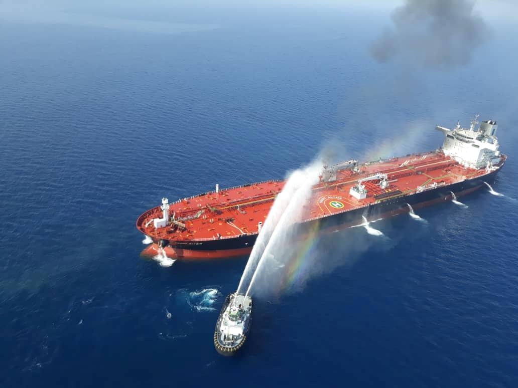 Deux pétroliers ciblés dans le golfe d'Oman : Washington accuse Téhéran