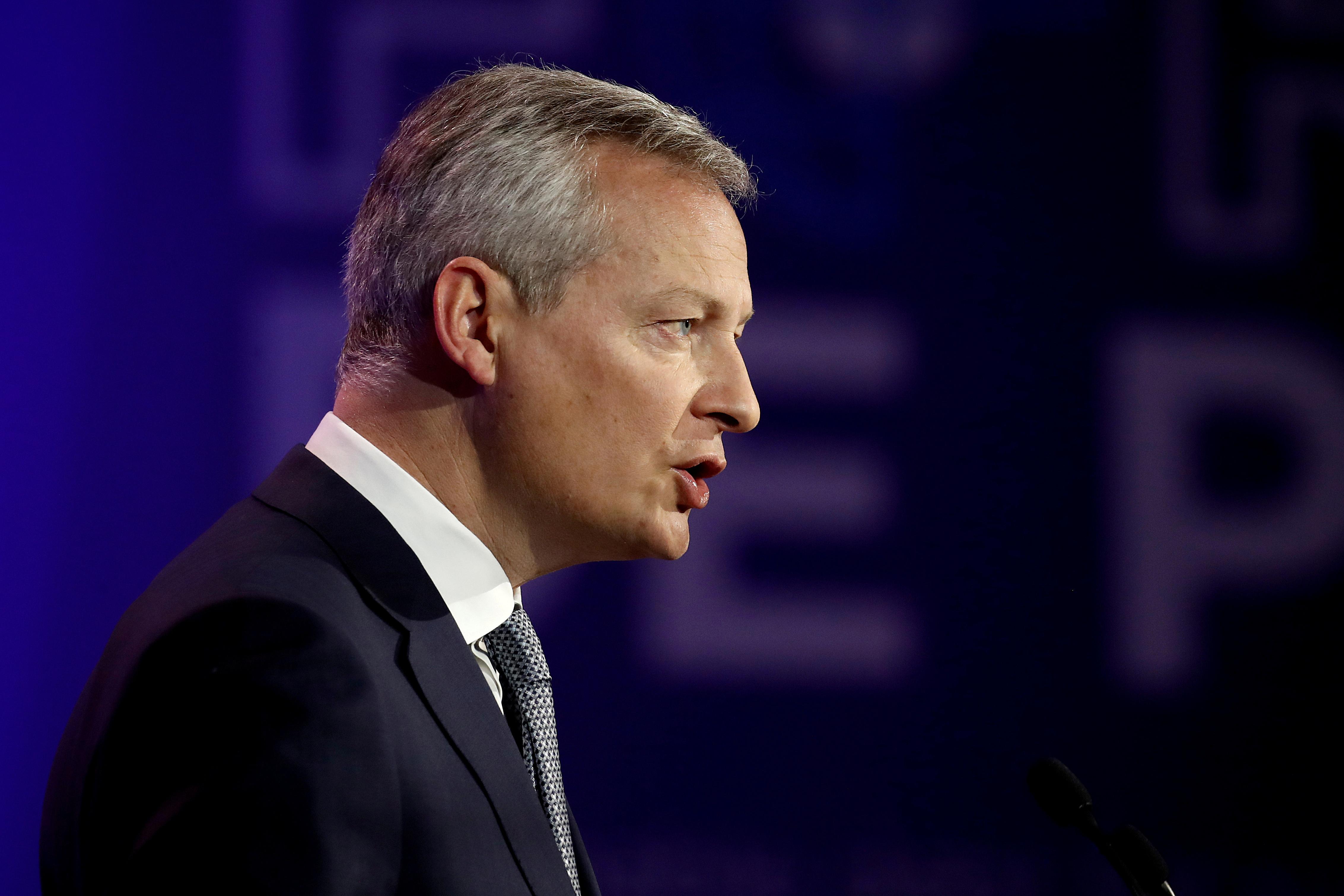 Taxe Gafa : Bruno Le Maire montre les muscles face aux menaces de Washington