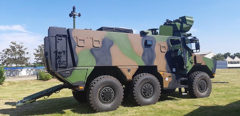 Véhicules blindés : le ministère des Armées notifie à Nexter le programme CaMo (Belgique)