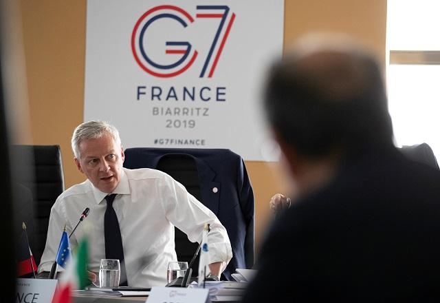 Au G7 Finances, Bruno Le Maire à l'offensive sur la taxe Gafa
