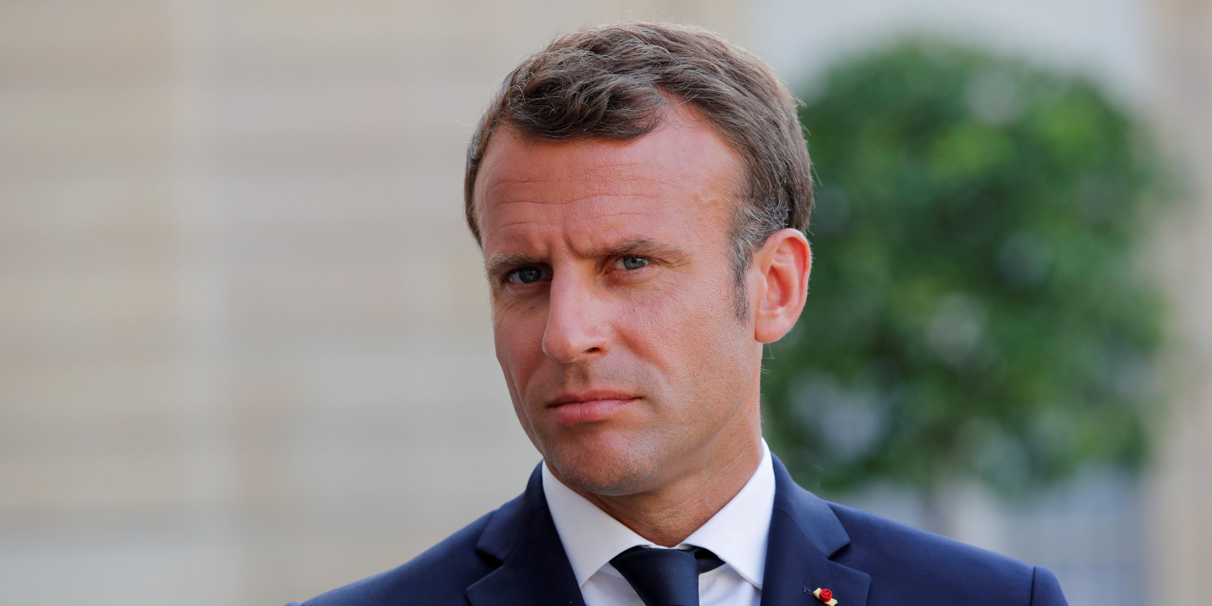 """G7 : Macron fustige le """"statut de paradis fiscal permanent"""" des géants de la tech"""