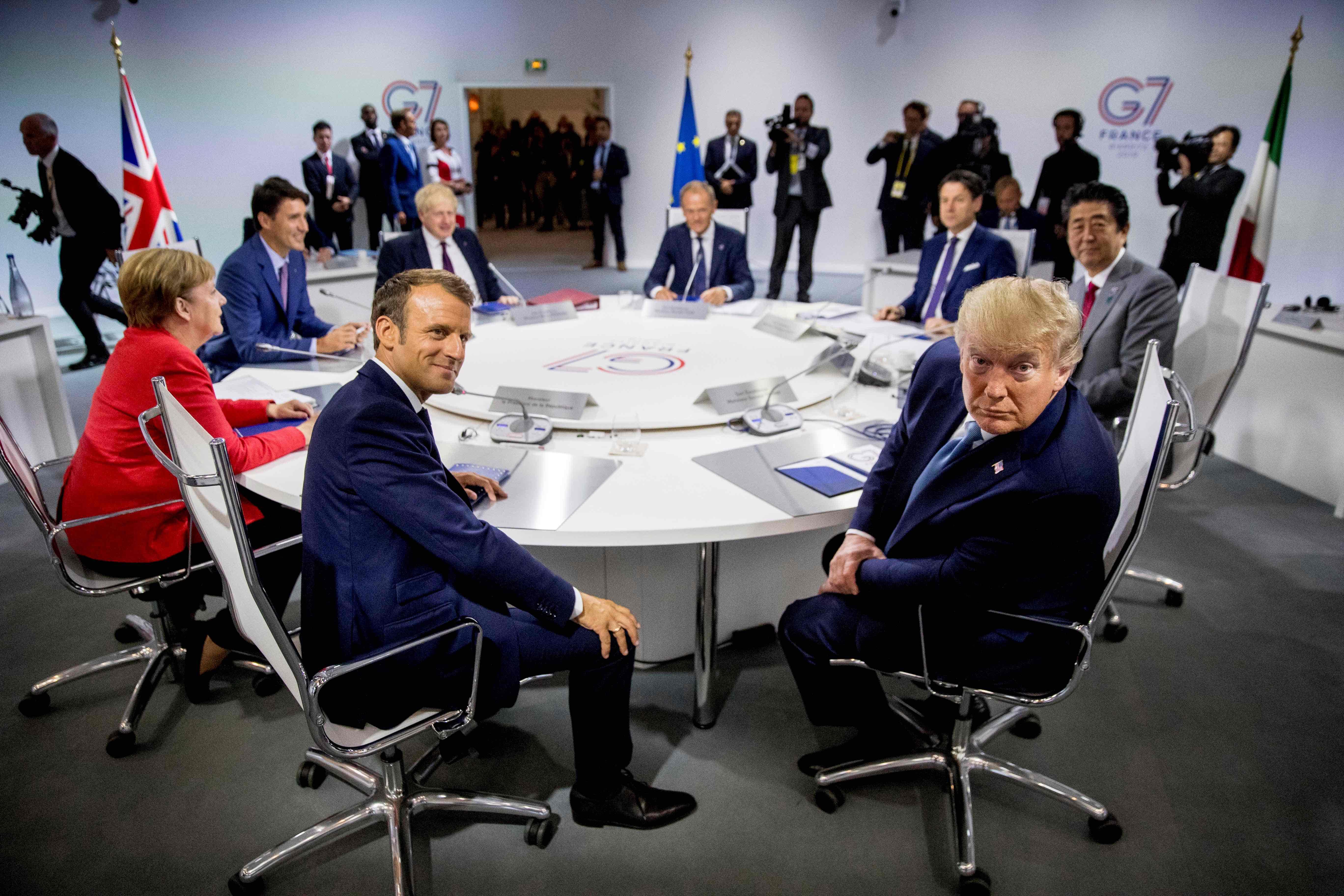 Guerre commerciale, Iran, feux de forêt en Amazonie... ce qu'il faut retenir du G7 de Biarritz