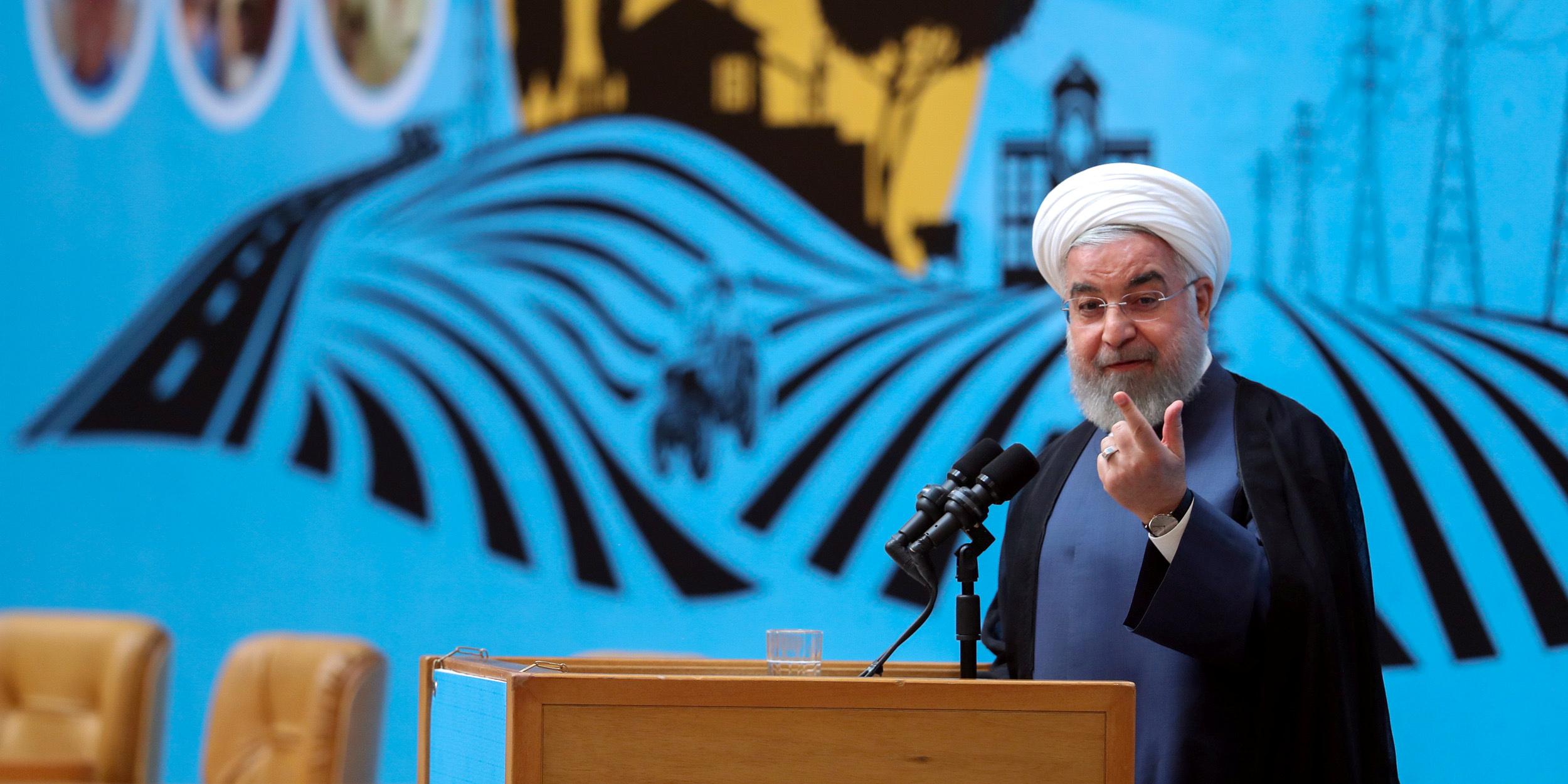 Nucléaire iranien : Rohani encourage Trump à lever les sanctions contre Téhéran