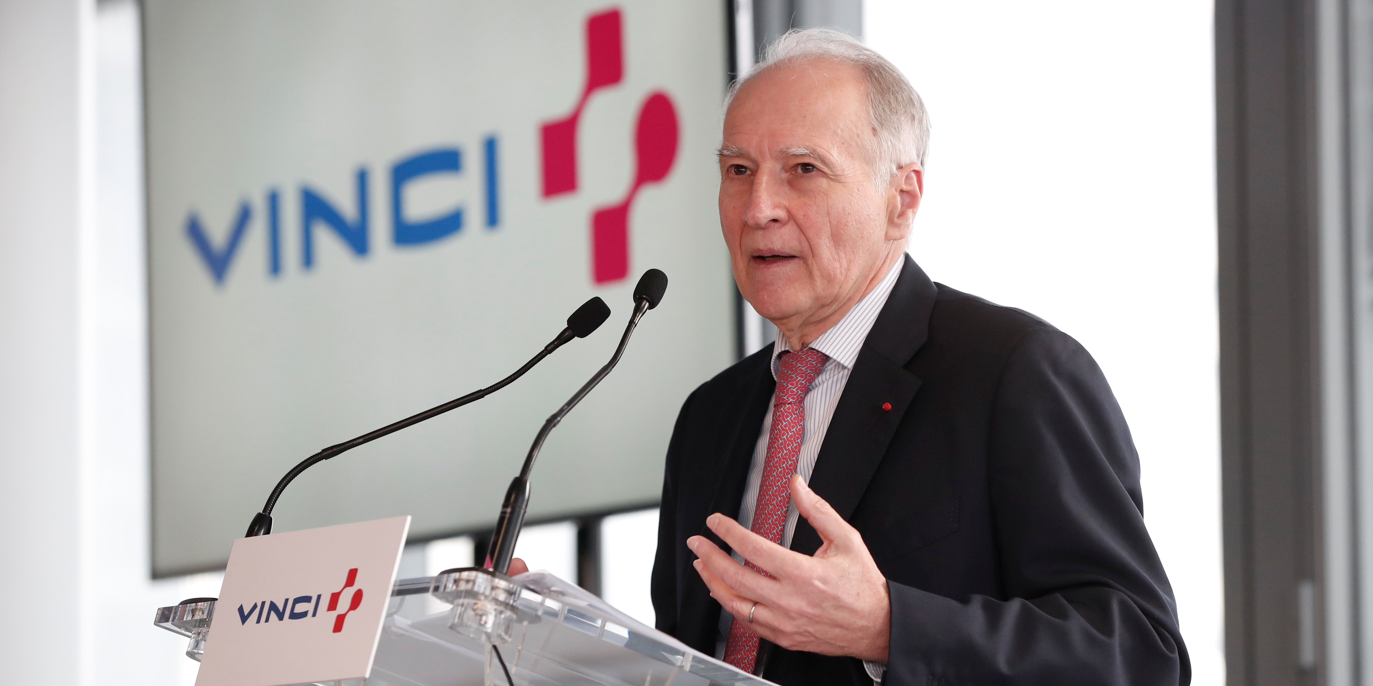 """""""Il est largement possible que Vinci gagne de grosses affaires en 2020"""" (Xavier Huillard, PDG du groupe Vinci)"""