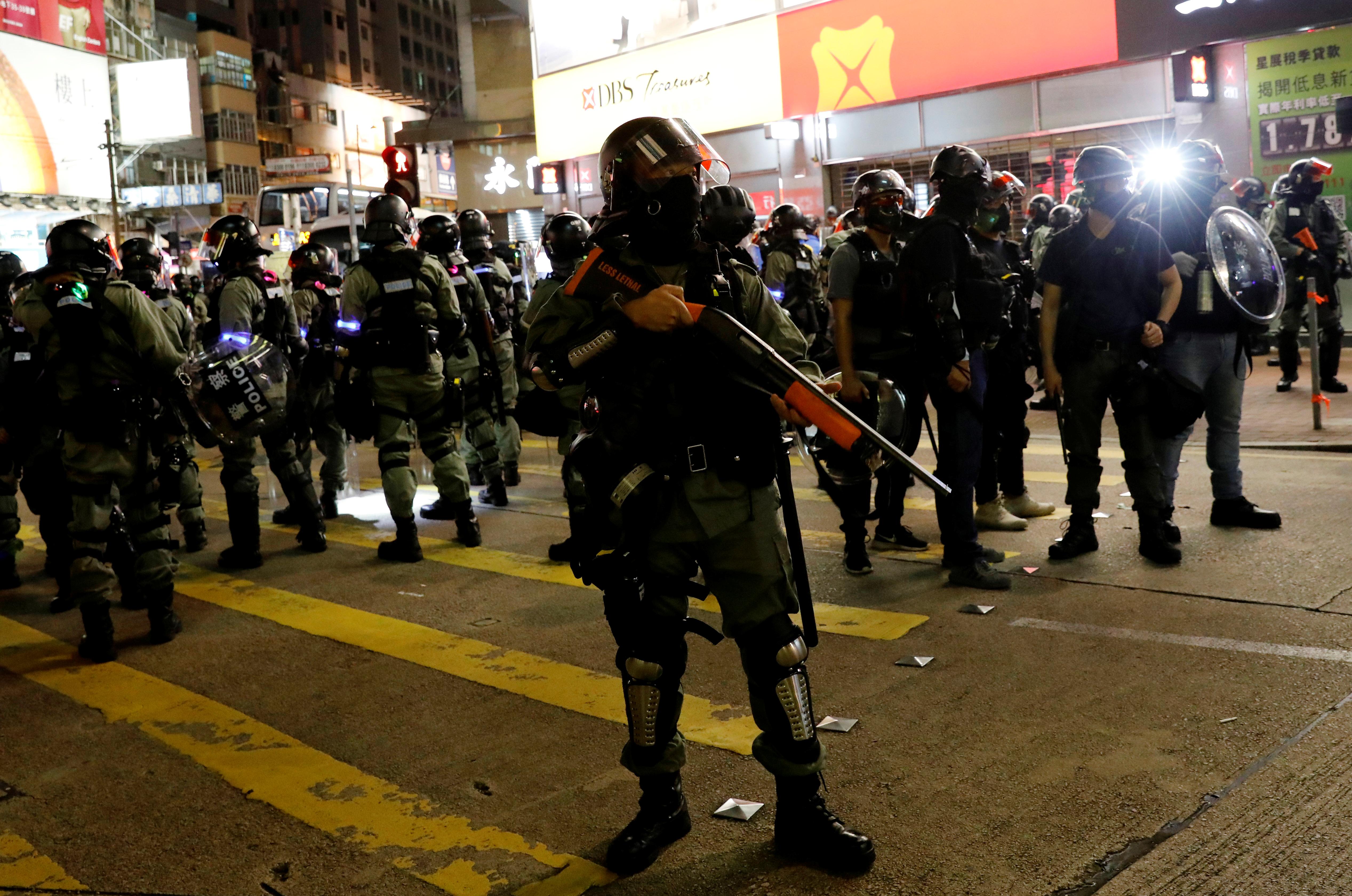 Manifestations à Hong Kong : les médias chinois exigent plus de fermeté de la part de Pékin