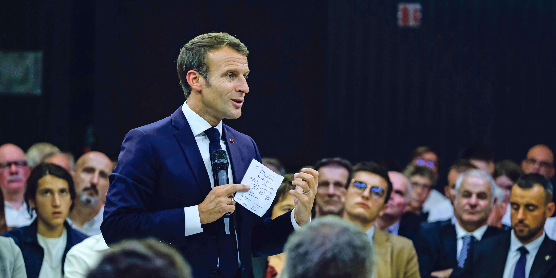 Emmanuel Macron face à la quadrature des retraites