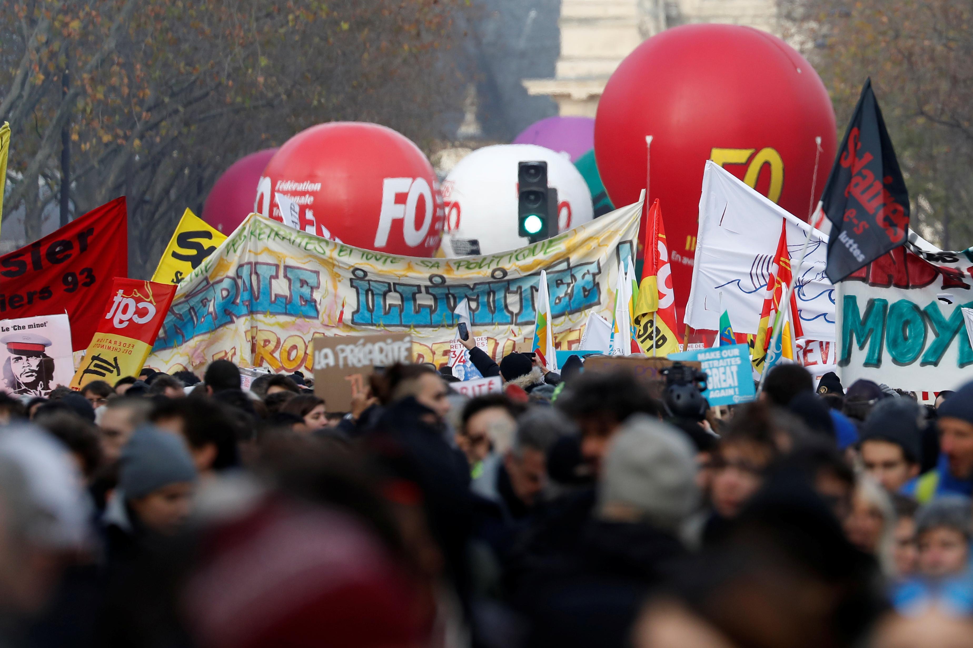 L'impact des syndicats dans la contestation sociale