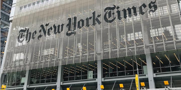 « L'idée est de moins laisser sortir nos données » (Robin Berjon, VP Data au New York Times)