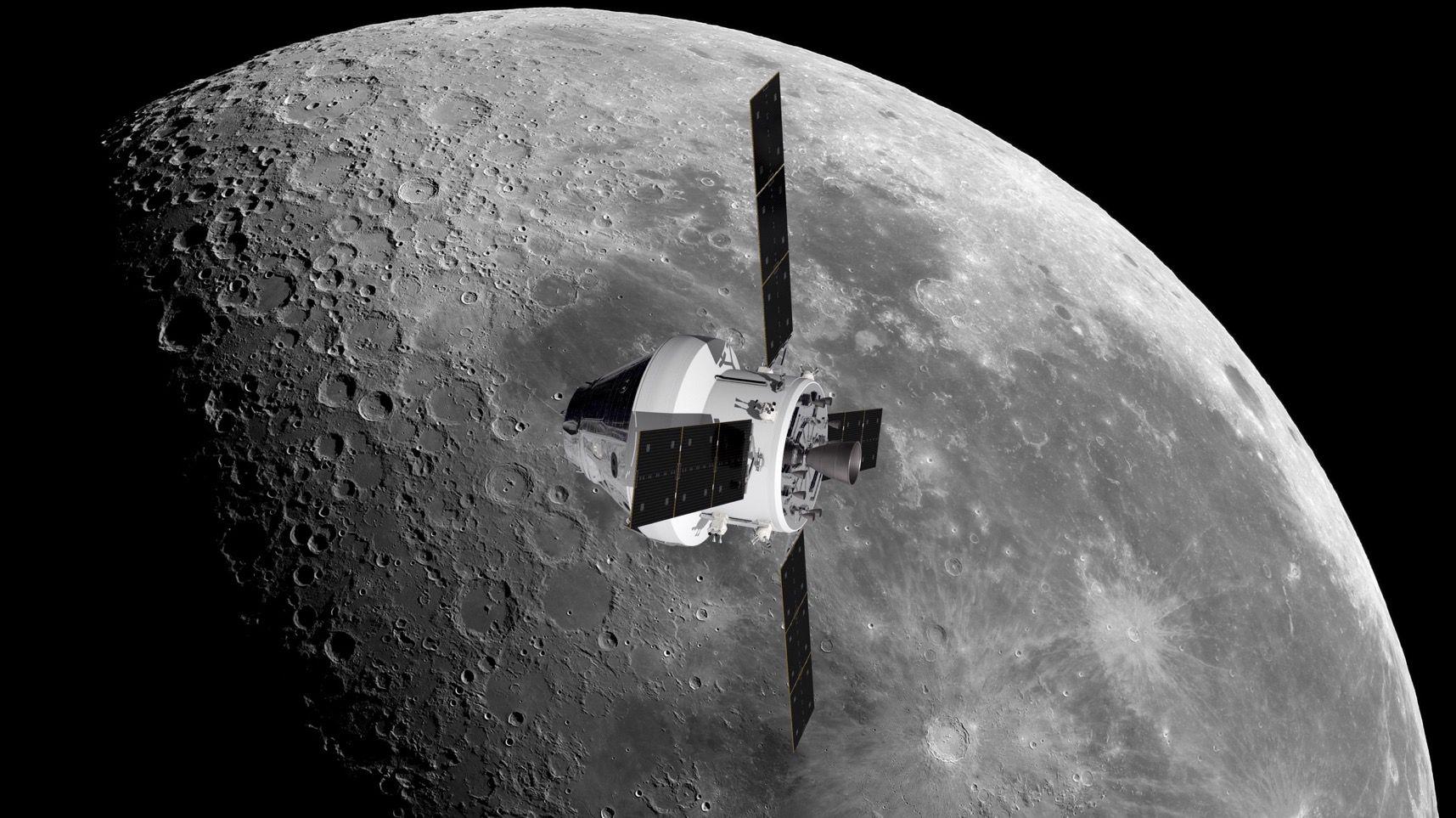 C'est Airbus Space qui posera les astronautes sur la Lune en 2024