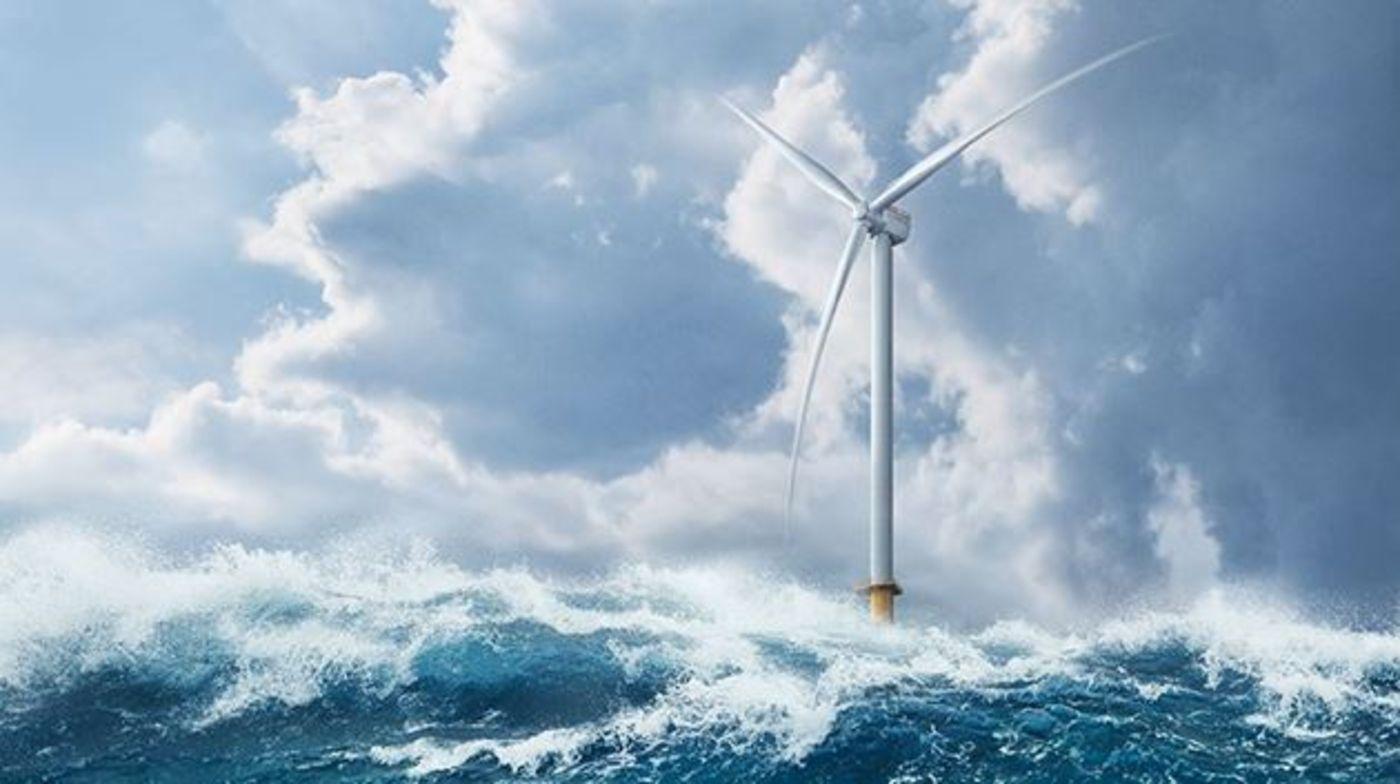 En mer, des éoliennes toujours plus grandes