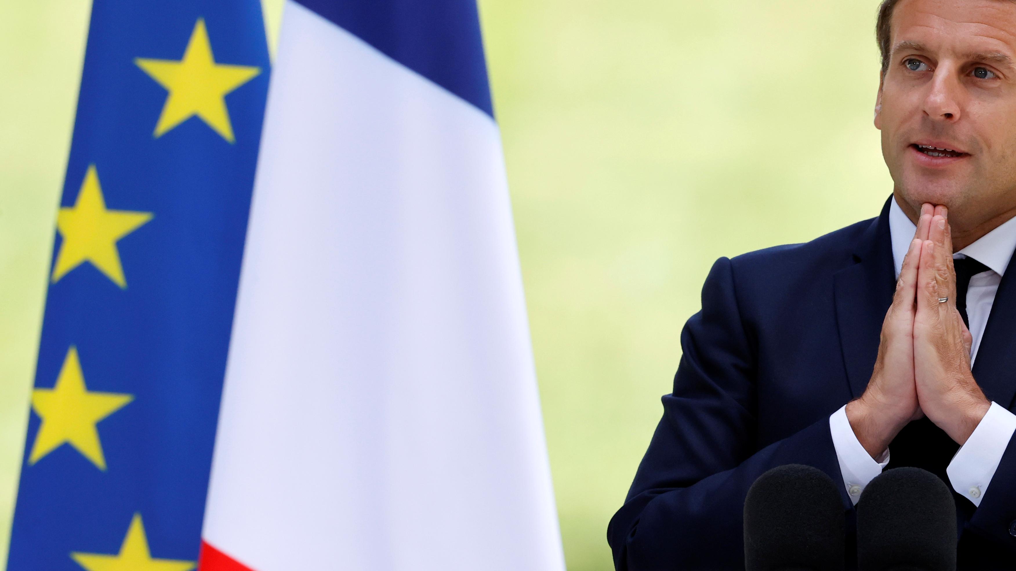 """15 milliards pour """"la conversion écologique"""", référundum...: les principales annonces de Macron à la Convention climat"""