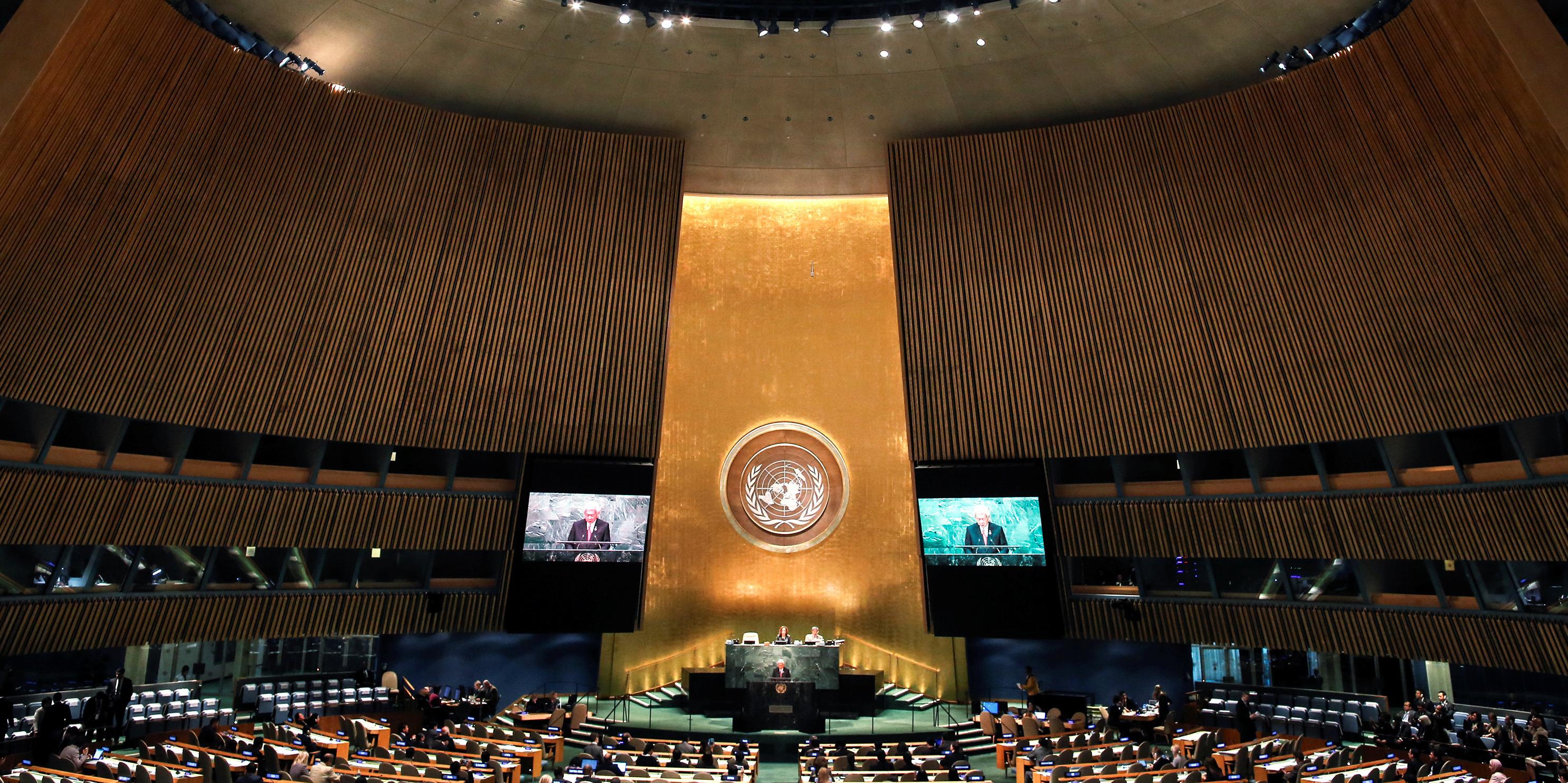 """A l'ONU, Trump attaque la Chine qui rejette l'idée d'une """"nouvelle guerre froide"""""""
