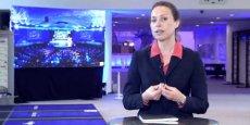 Florence Autret, correspondante à Bruxelles pour La Tribune. / DR