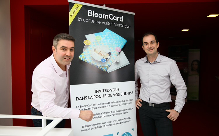 La Start Up Toulousaine UBleam Lance Carte De Visite En Realite Augmentee
