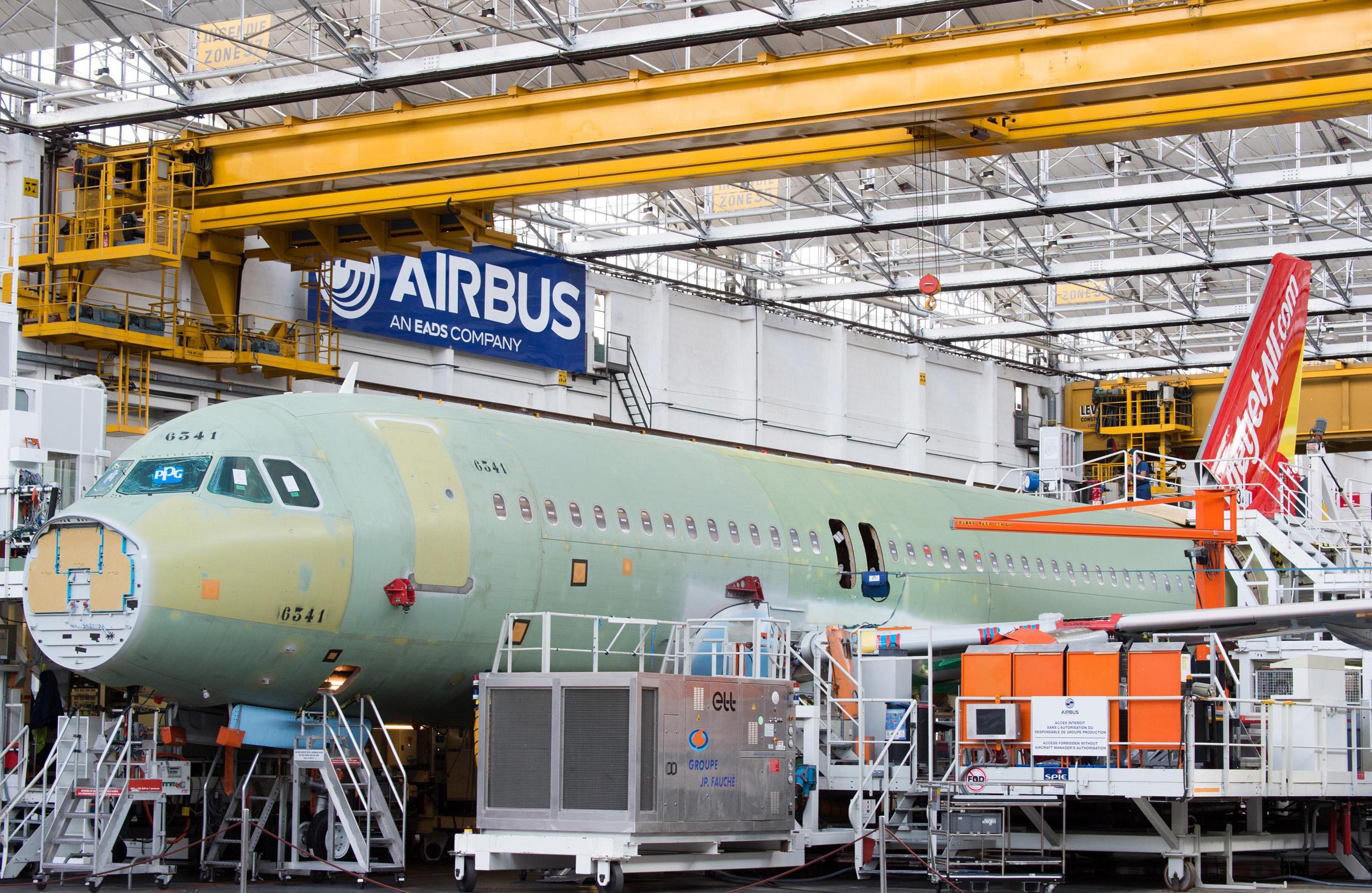 Resultado de imagen para FAL Airbus A320 Toulouse