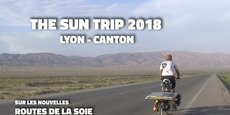 100 jours Lyon à Canton grâce à un vélo solaire !