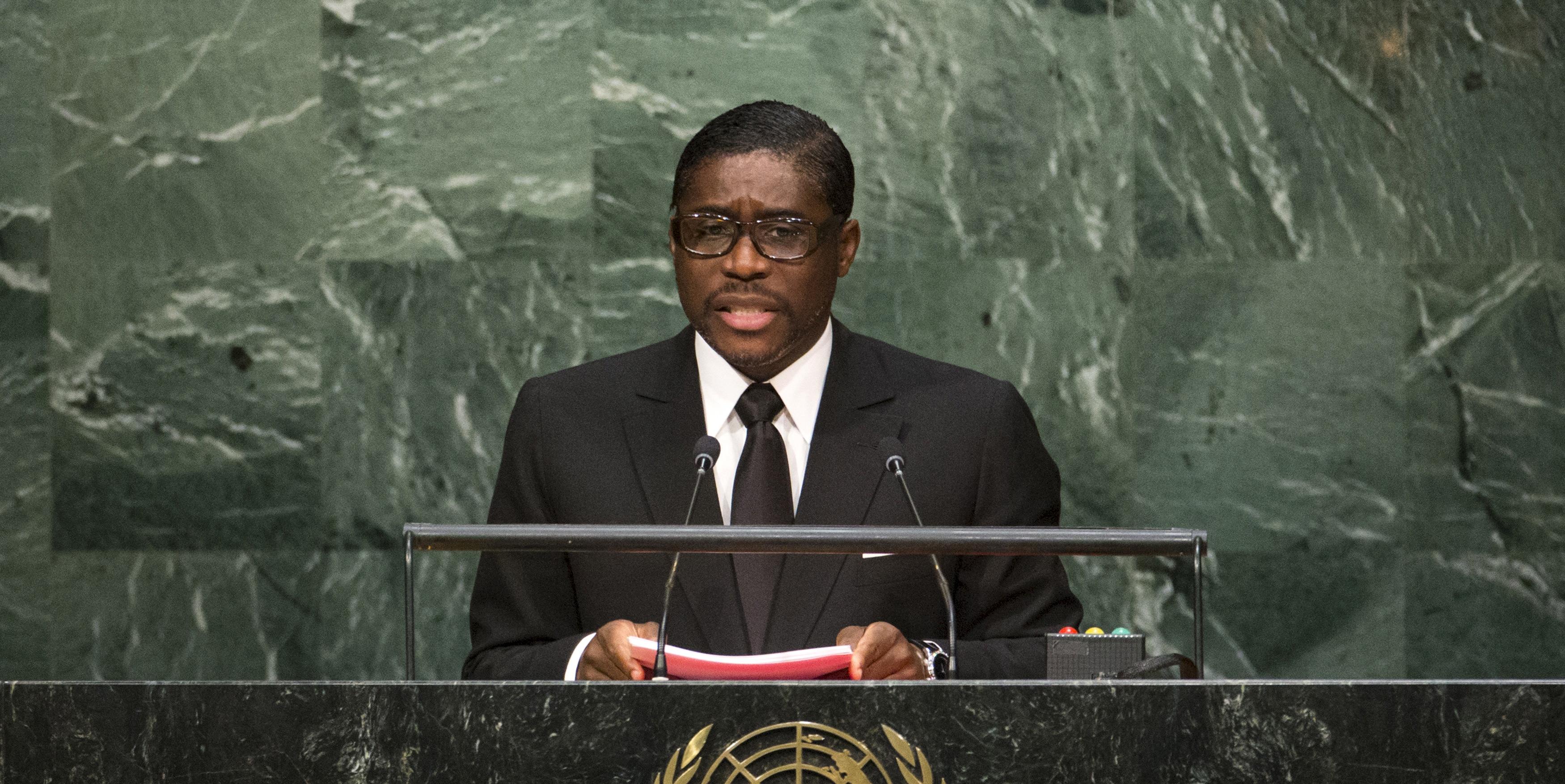 """Résultat de recherche d'images pour """"teodorin obiang onu"""""""