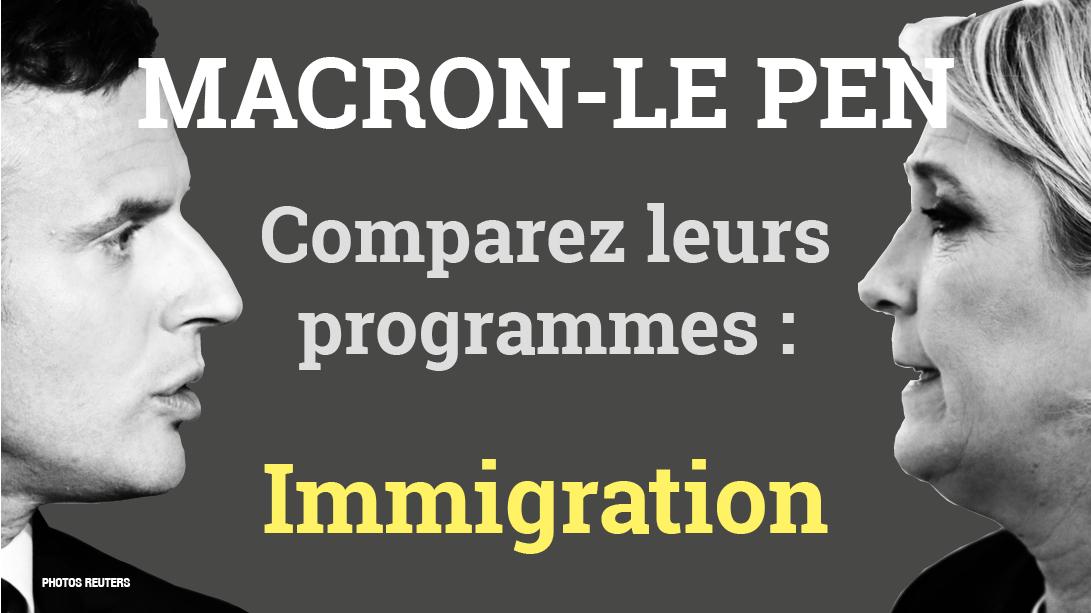 Immigration : Macron devient plus sévère que Marine Le Pen !