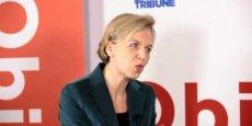 Virginie Calmels, adjointe au maire de Bordeaux en charge de l'Economie, de l'Emploi et de la Croissance durable