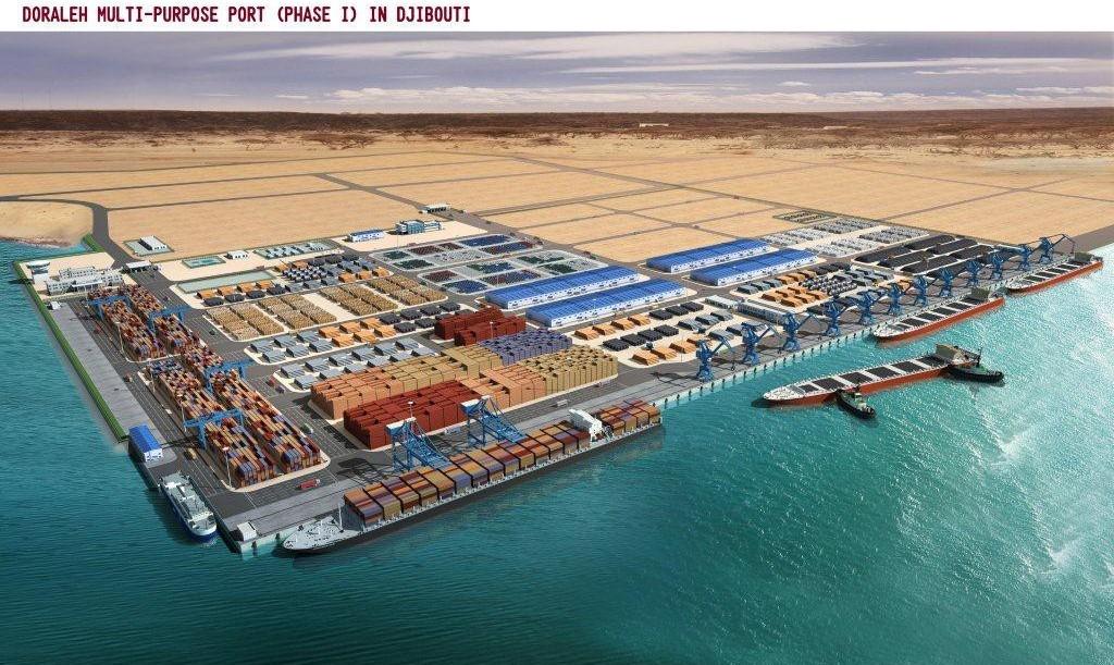 """Résultat de recherche d'images pour """"port de Doraleh, Djibouti, 2016, 2017"""""""