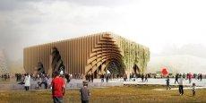 Présentation du Pavillon France à l'Expo 2015.