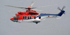 Airbus Helicopters a demandé à ses clients de vérifier les rotors, et en particulier, les barres de suspension du rotor des H225