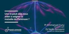 Une IA peut-elle nous aider à soigner la maladie de Parkinson ? Eléments de réponse avec les dirigeants de la startup Rebrain interrogés par Thomas Gouritin, de Regards Connectés.