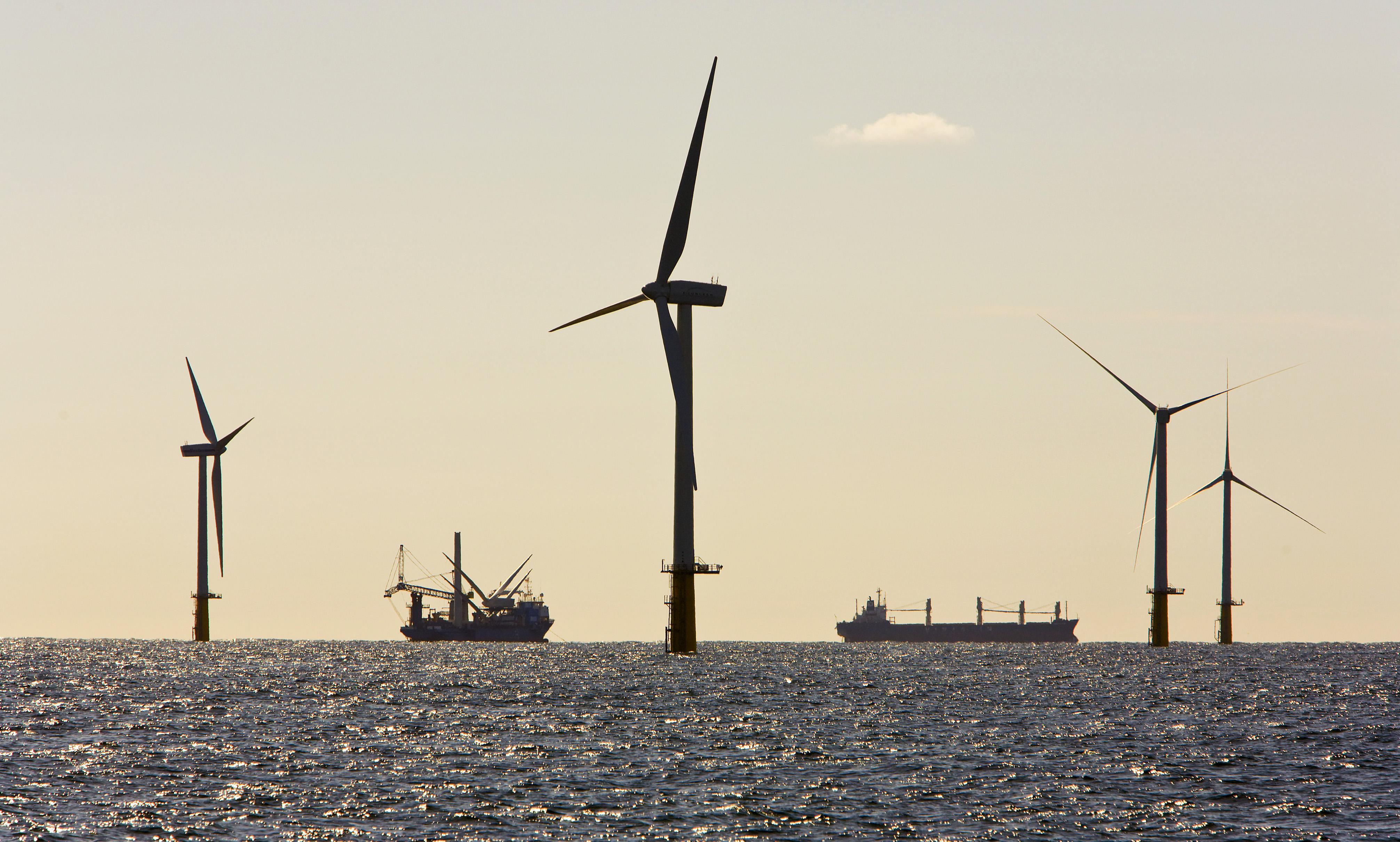 Iberdrola cède 40% d'un gigantesque parc éolien offshore en construction en Angleterre