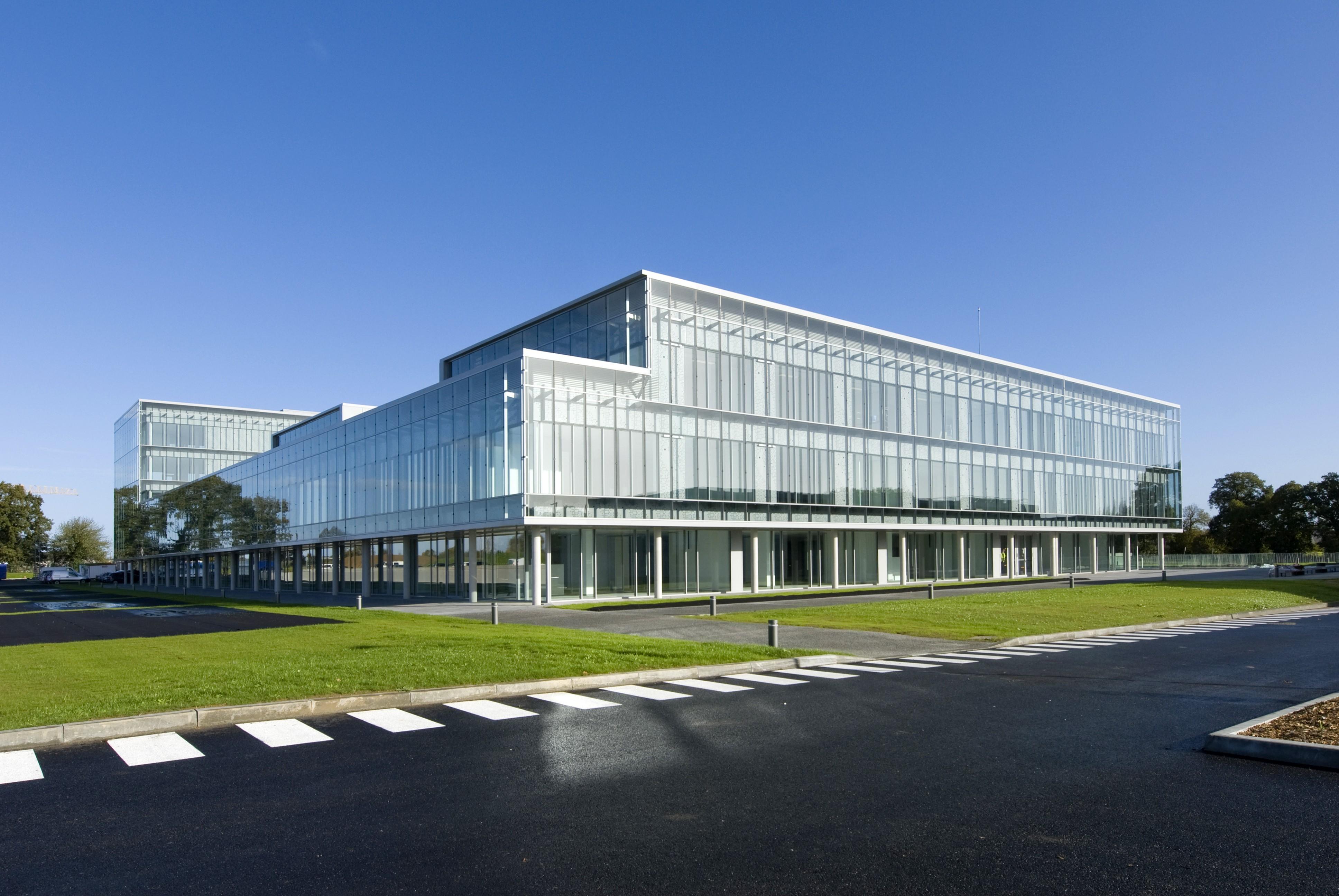 Centre d'affaire banque populaire
