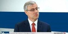 Alain Dehaze, président du Groupe Adecco France. / DR