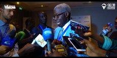 Lors de la conférence Africa Convergence qui s'est déroulée du 21 au 22 juin, à Dakar au Sénégal.