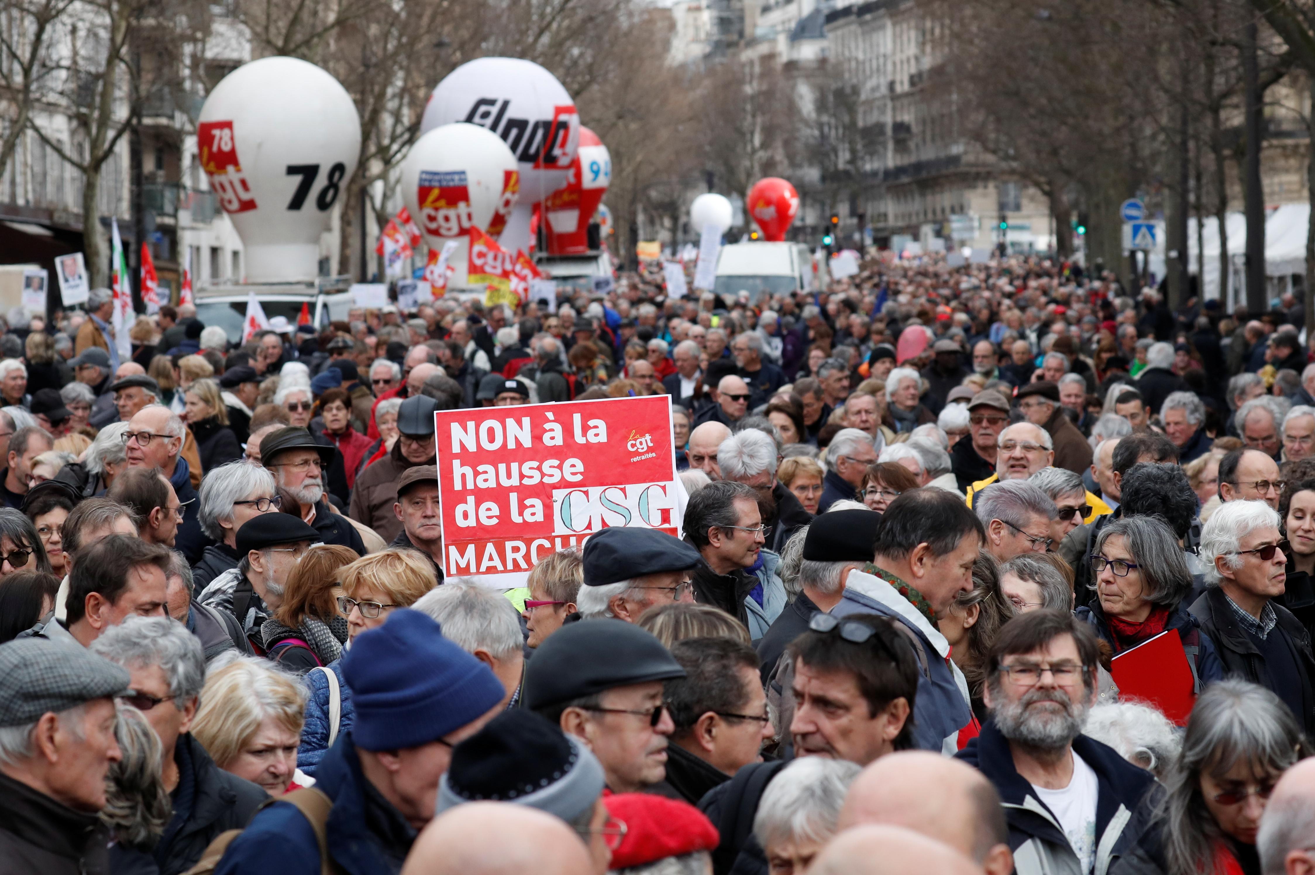 Budget 2019 Les Retraites Grands Perdants