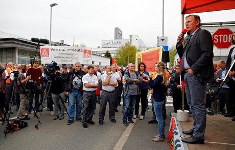 Opel manifestation à Eisenach
