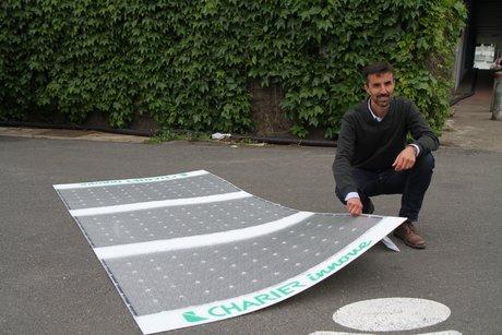 Valéry  Ferber, directeur environnement innovation Charier, navette autonome électrique, Nantes city Lab, Frédéric Thual