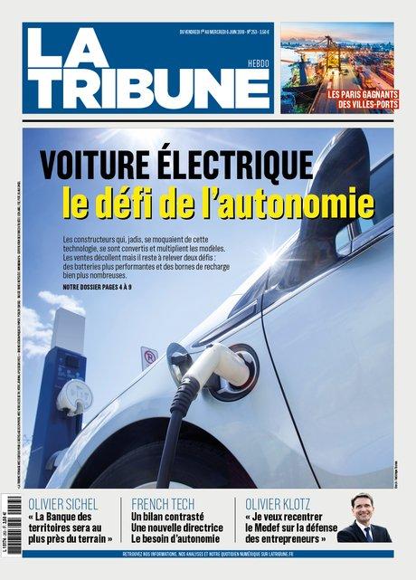 H253, couv, La Tribune Hebdo, 20180601, voiture électrique,
