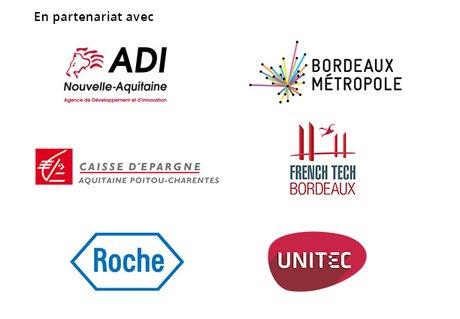 Visuel partenaires Forum Santé Innovation 2018