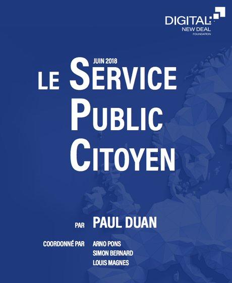 Capture d'écran Service public citoyen