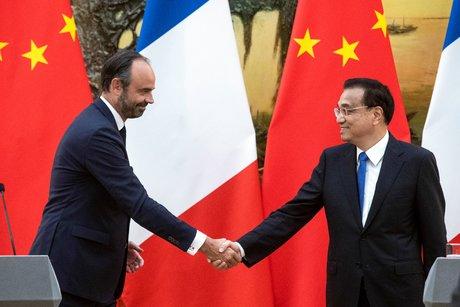 Chine, Edouard Philippe, Li Keqiang, boeuf, Airbus,